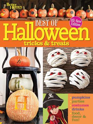 Best of Halloween Tricks & Treats By Better Homes and Gardens Books (COR)